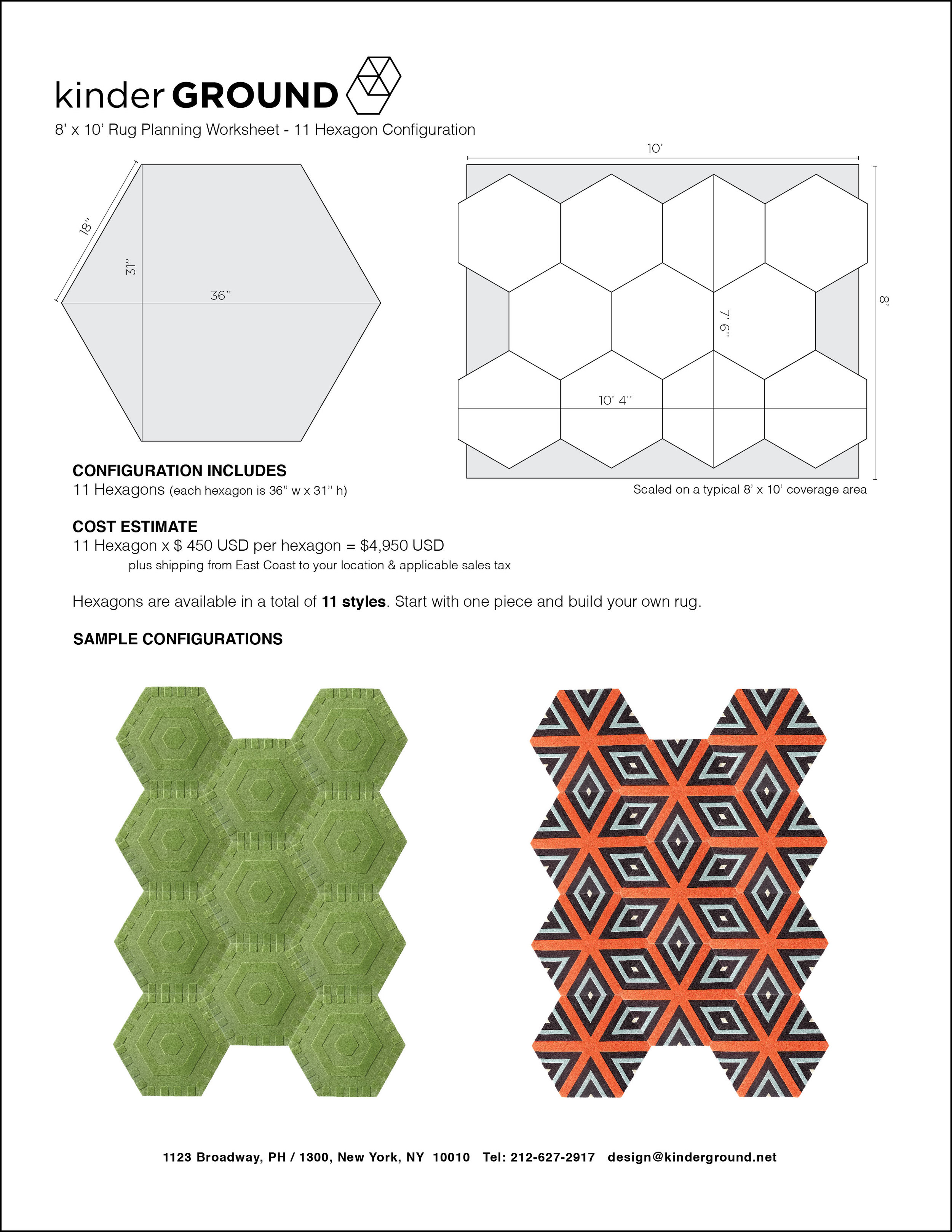 11-Hexagon Configuration