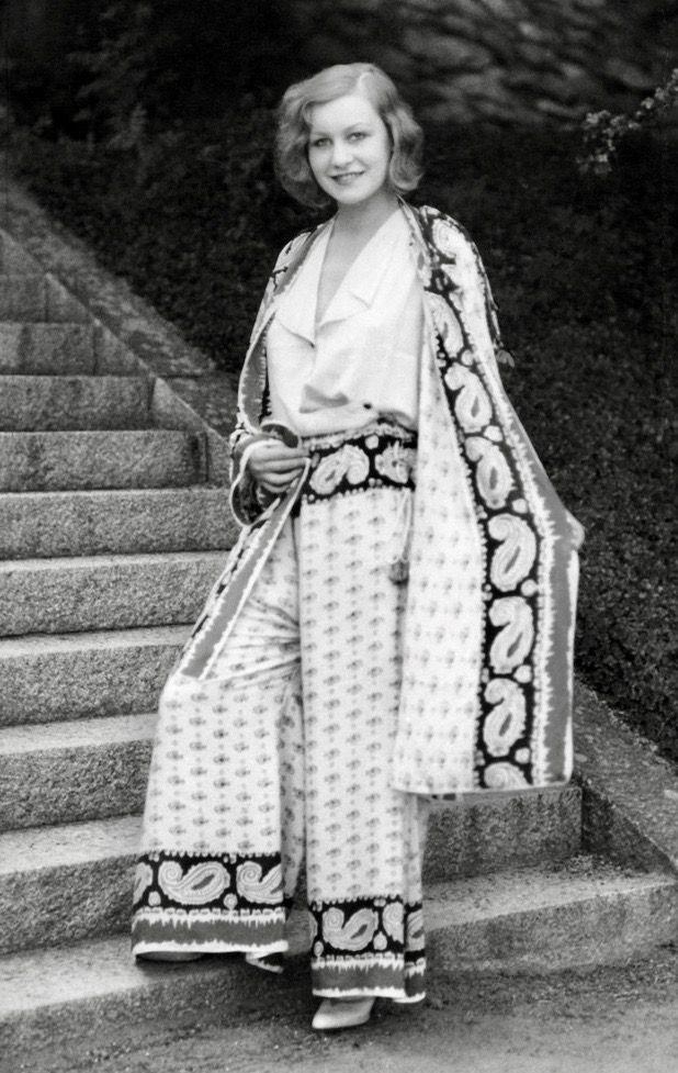1930s pajama style