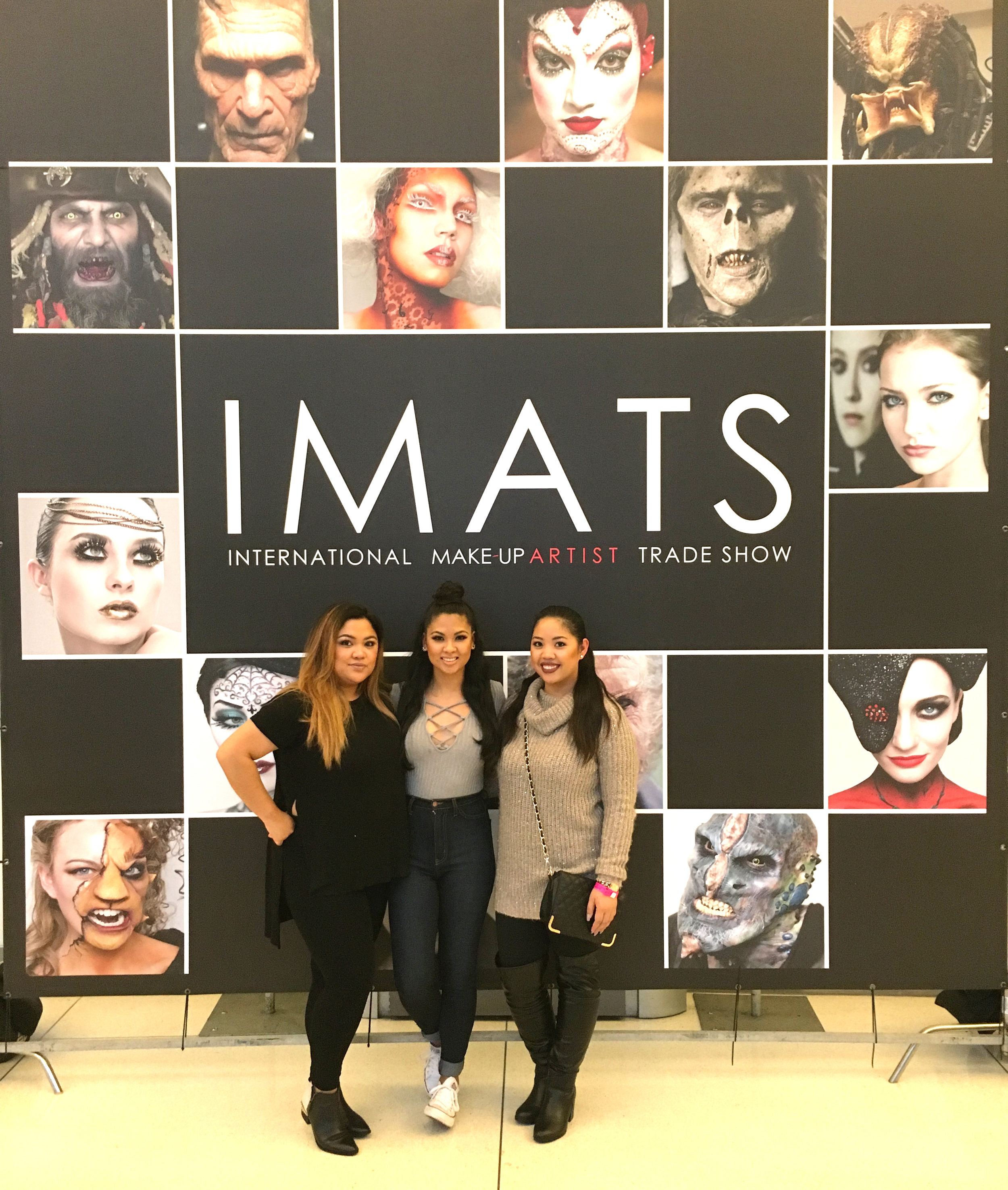 Obligatory IMATS photo with my BFFs