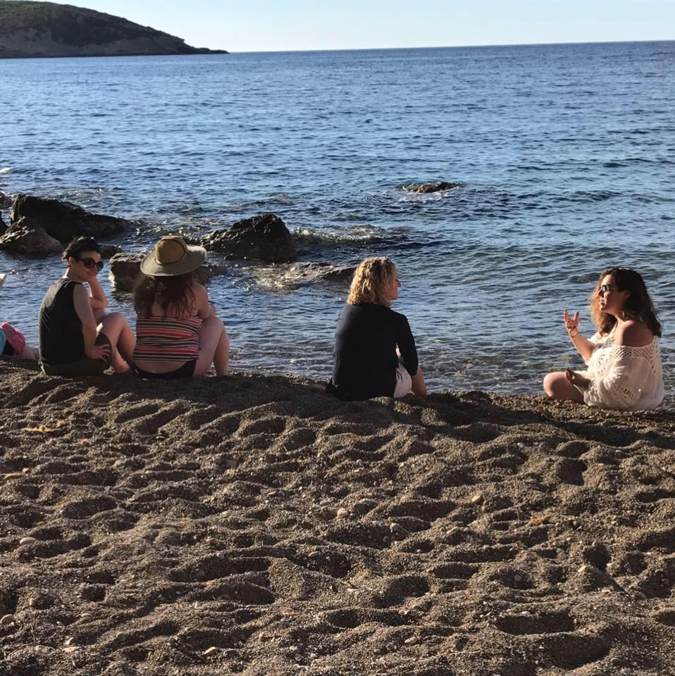 """I'm so appreciative of the space and time this Ibiza writers' workshop afforded me, and so grateful for the guidance Francesca gave me on my piece over the course of the trip."" - Danielle."