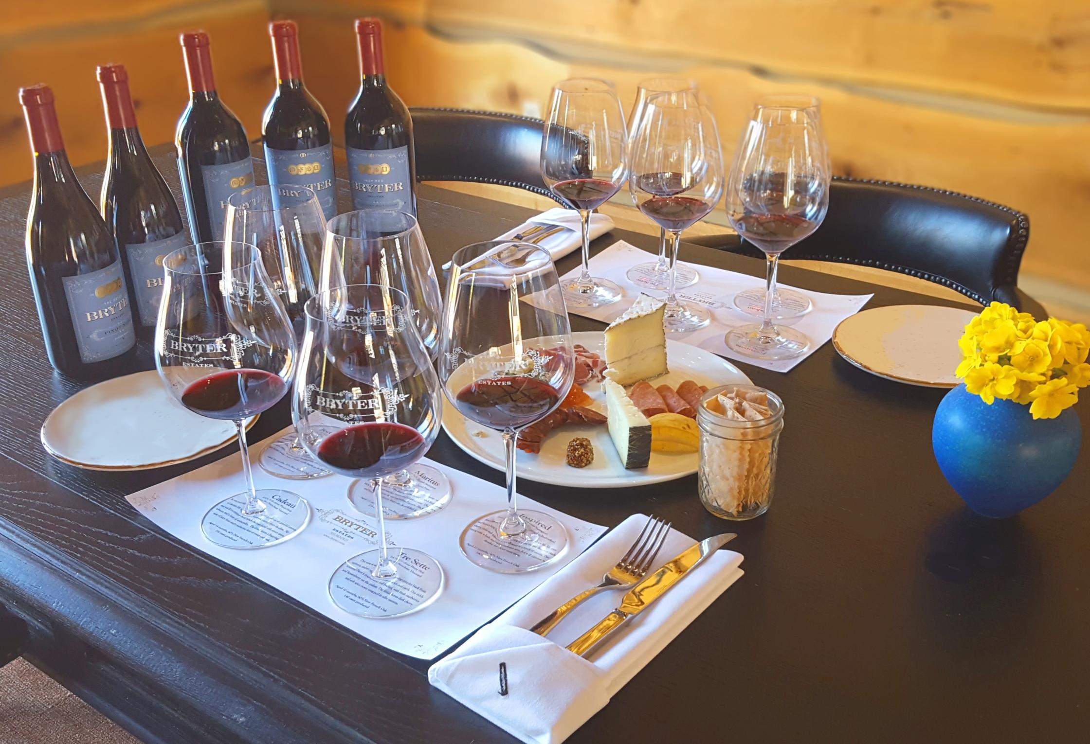 Wine & Food Tasting in Downtown Napa!