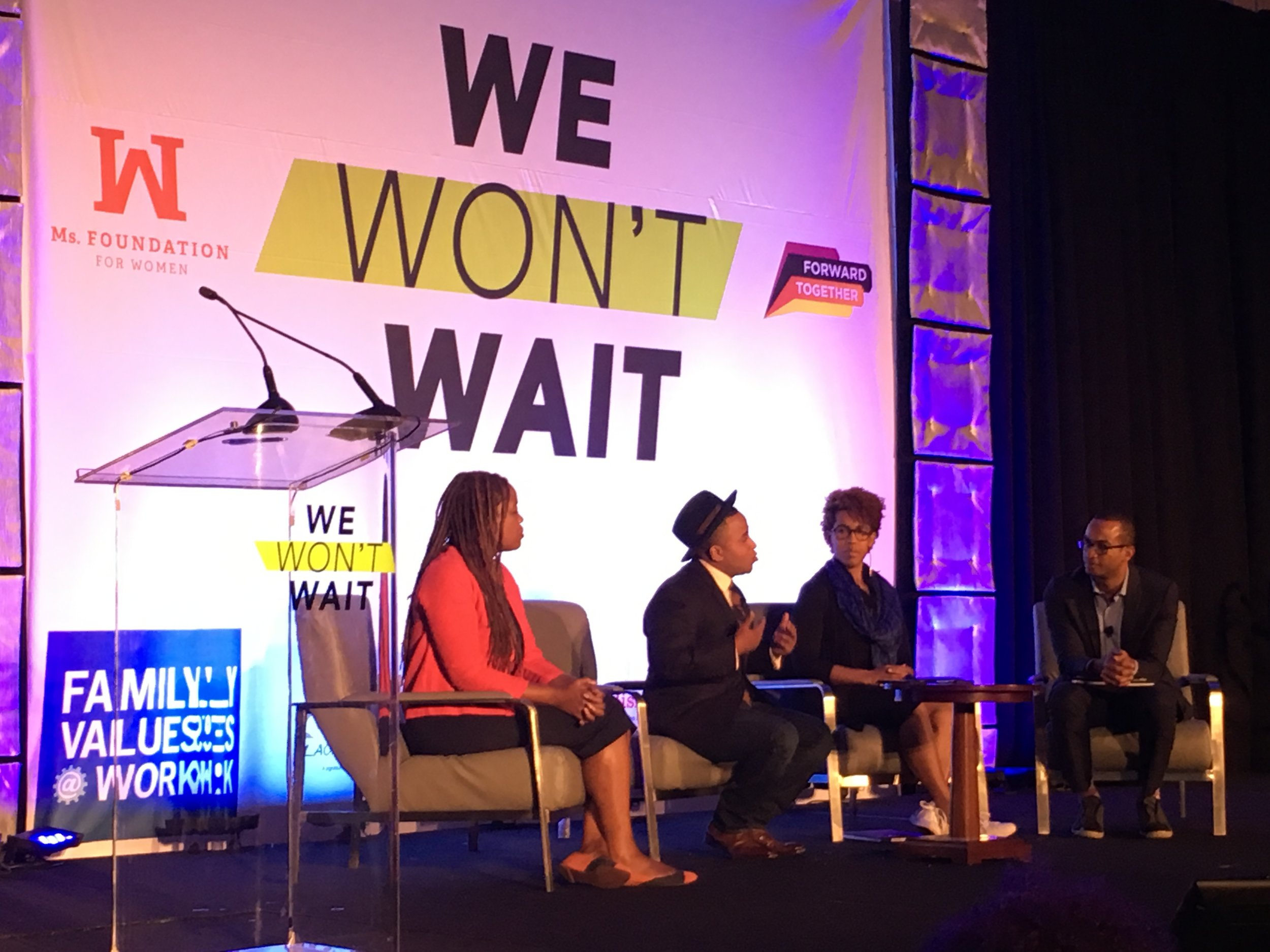 click for We Won't Wait 2016 summit info