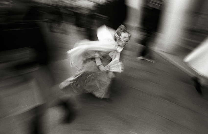 """""""VENICE - Angel Running"""" - (2009)   Giclee Archival Print 63.5cm x 42cm (25in x 16.5in) Edition Available - 5 / 95 Signed, Titled, Numbered and Dated in pencil by Photographer"""