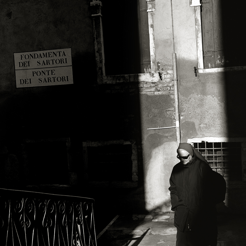 """""""VENICE - Nun"""" - (2013)   Giclee Archival Print 56cm x 56cm (22in x 22in) Edition Available - 3 / 95 Signed, Titled, Numbered and Dated in pencil by Photographer"""