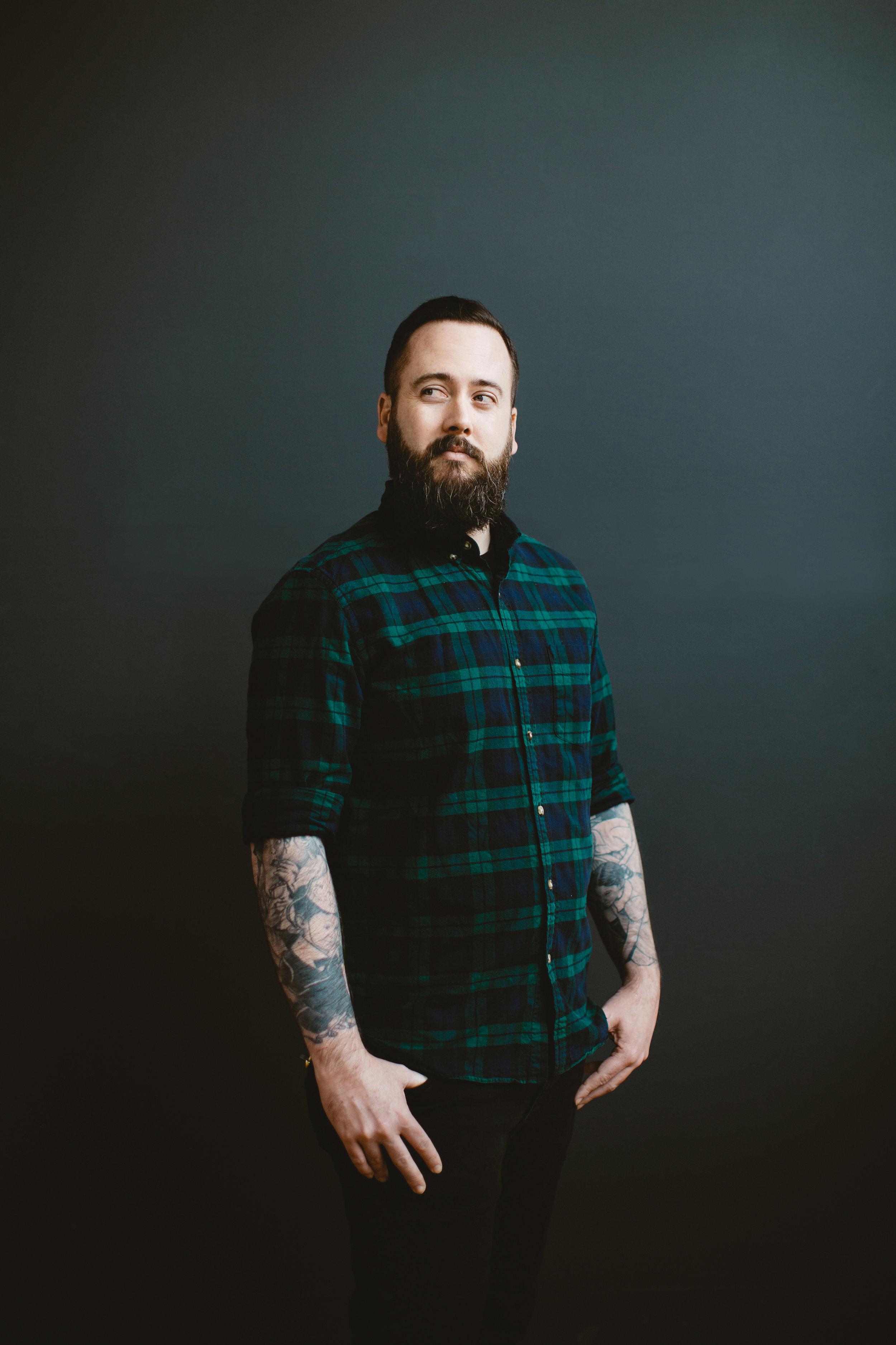 Sean Gillespe botanical floral dot work black Portland Oregon tattoo artist