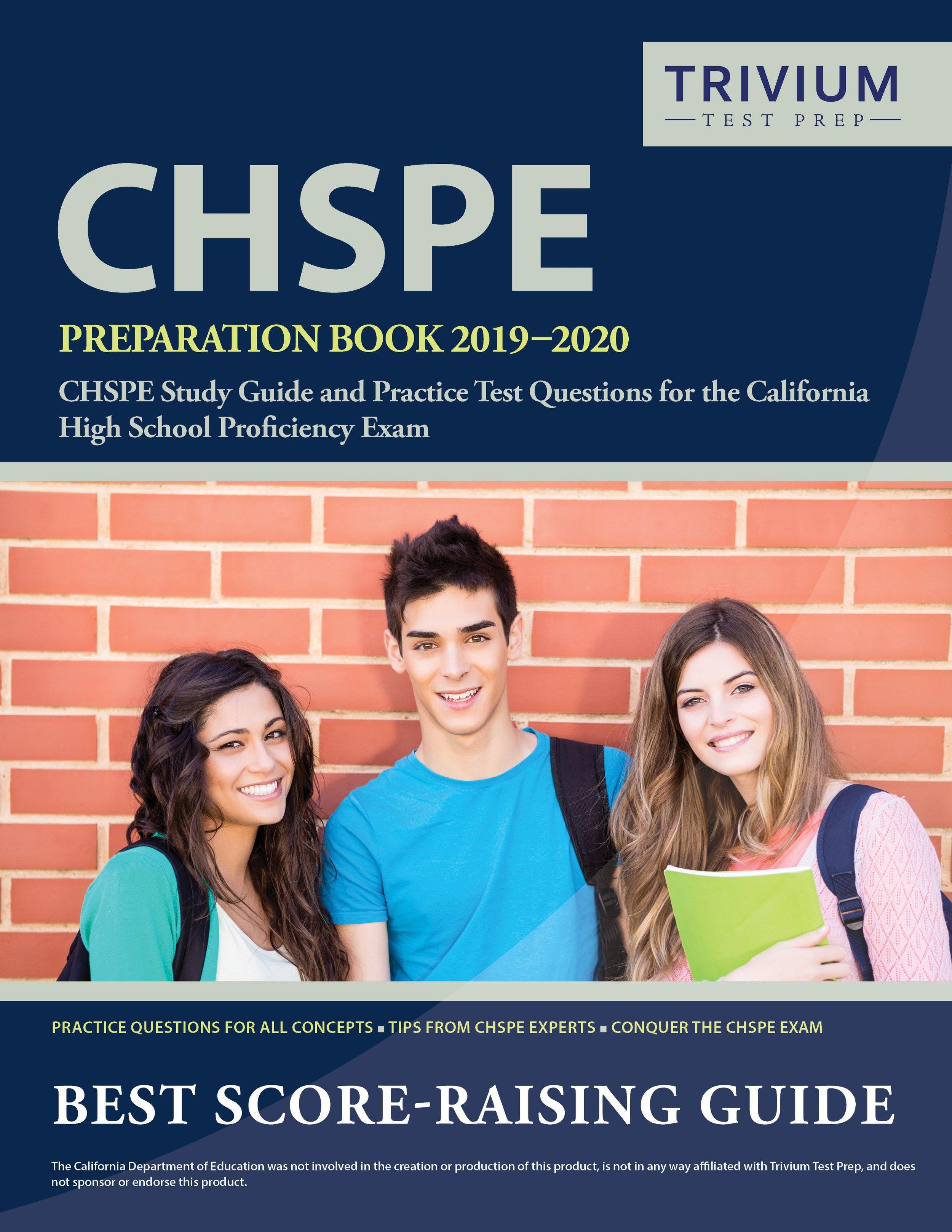 CHSPE Preparation Book 2019 – 2020