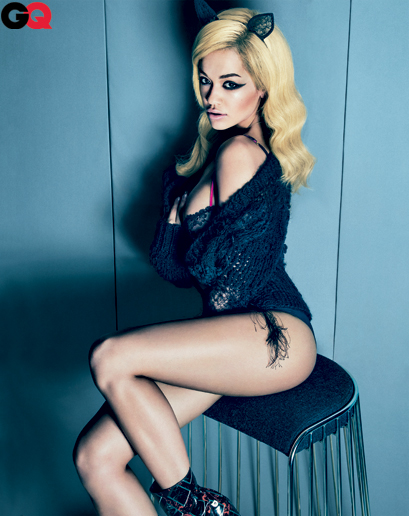 Rita Ora for GQ by Sebastian Kim