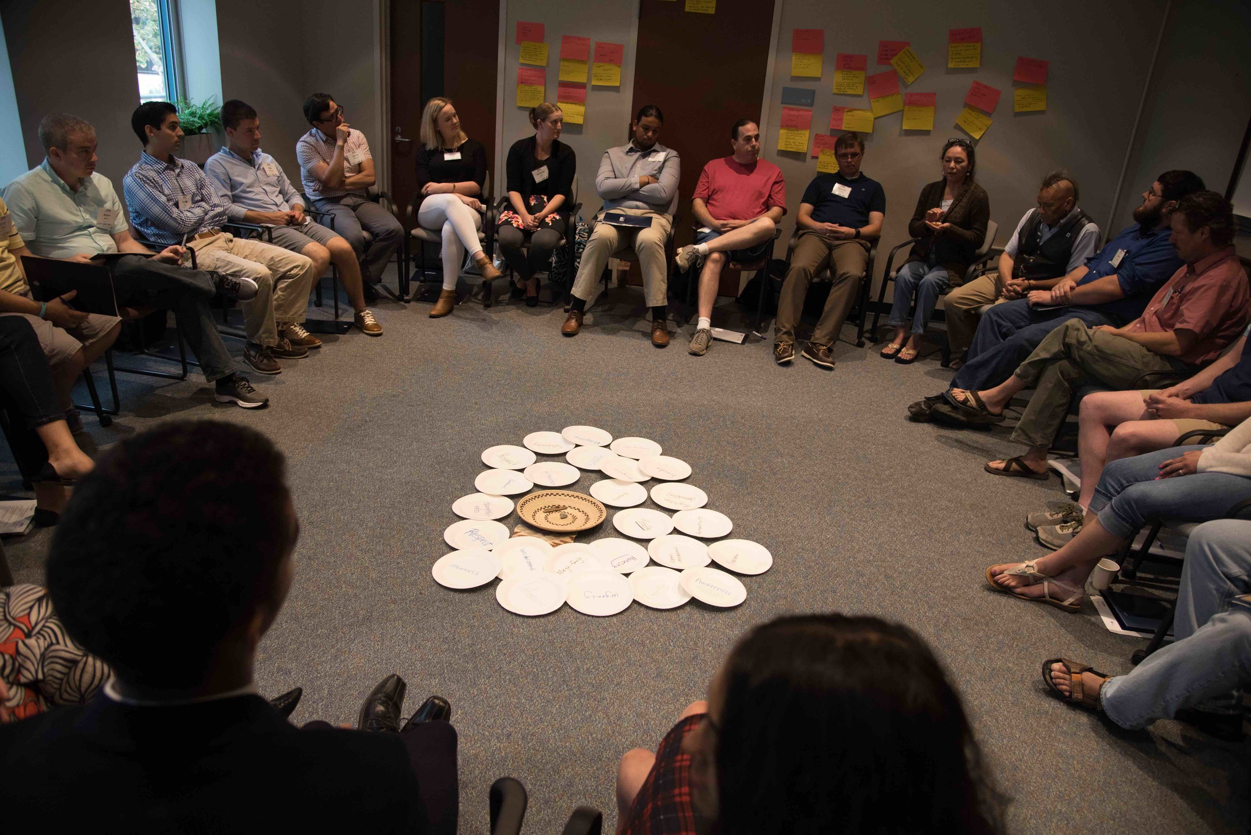 Upstander Academy 2016 participants in Listening Circle