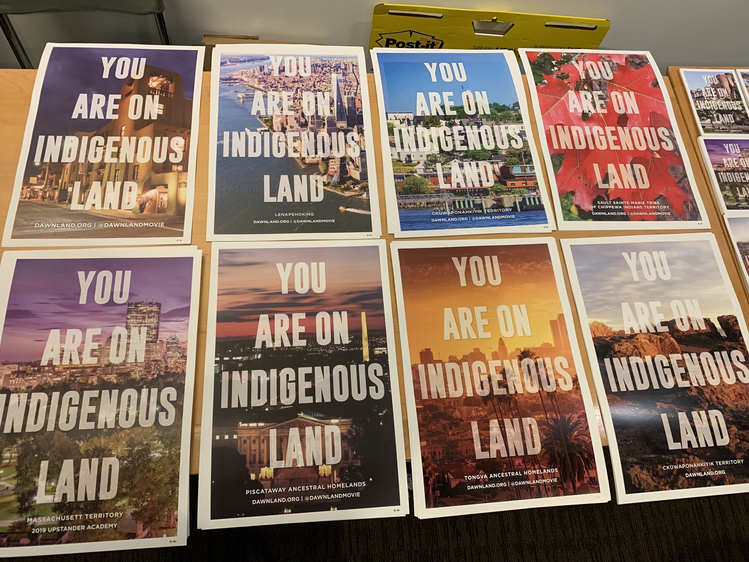 You are on Indigenous Land
