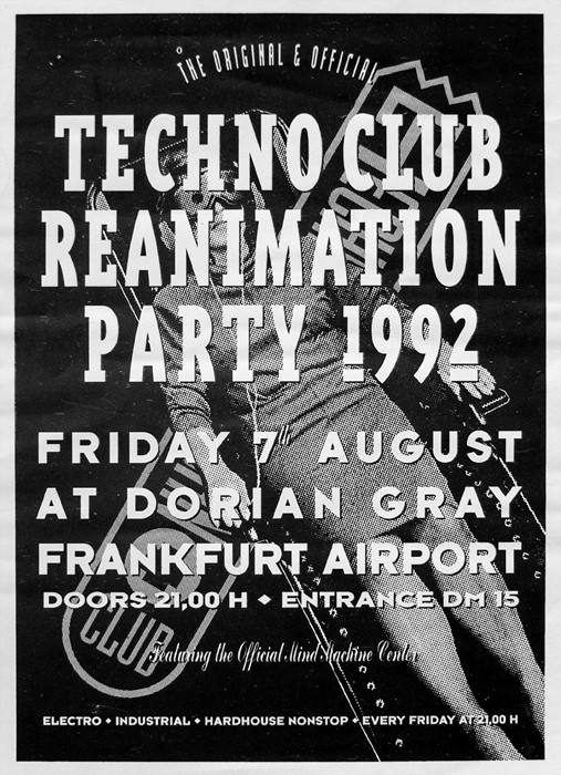 """Andreas Tomalla opened """"Technoclub"""" in 1984, the first club in Frankfurt to play only electronic music  via Wikimedia Commons"""