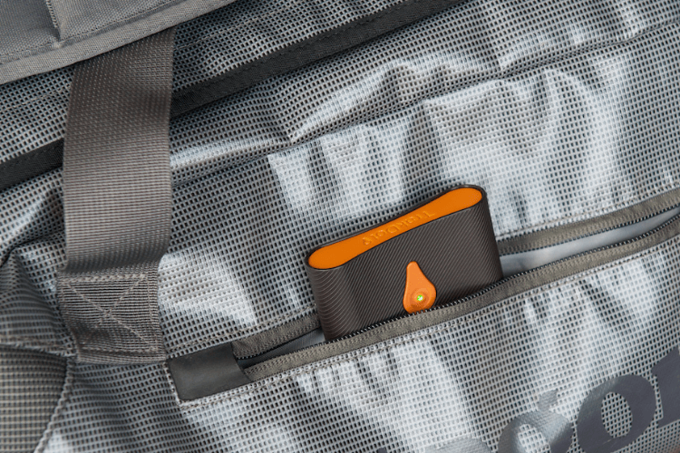 TrackDot is the first affordable luggage tracking device that tells you where your bag is when you land.
