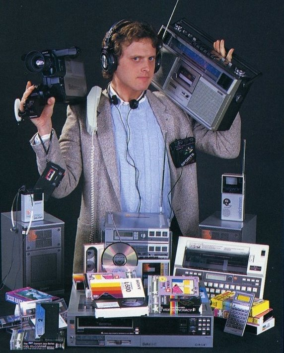 All of these items were replaced by smartphones.