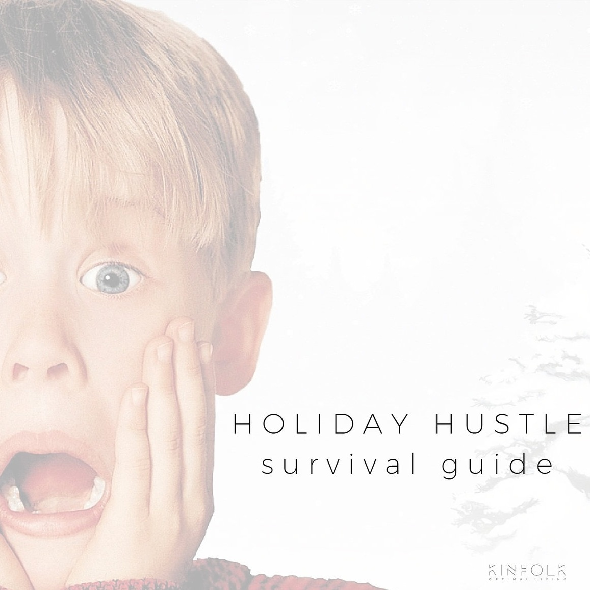 8 TIPS TO SURVIVE THE Holiday HUSTLE -