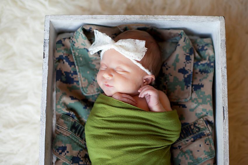 San Diego Military Newborn