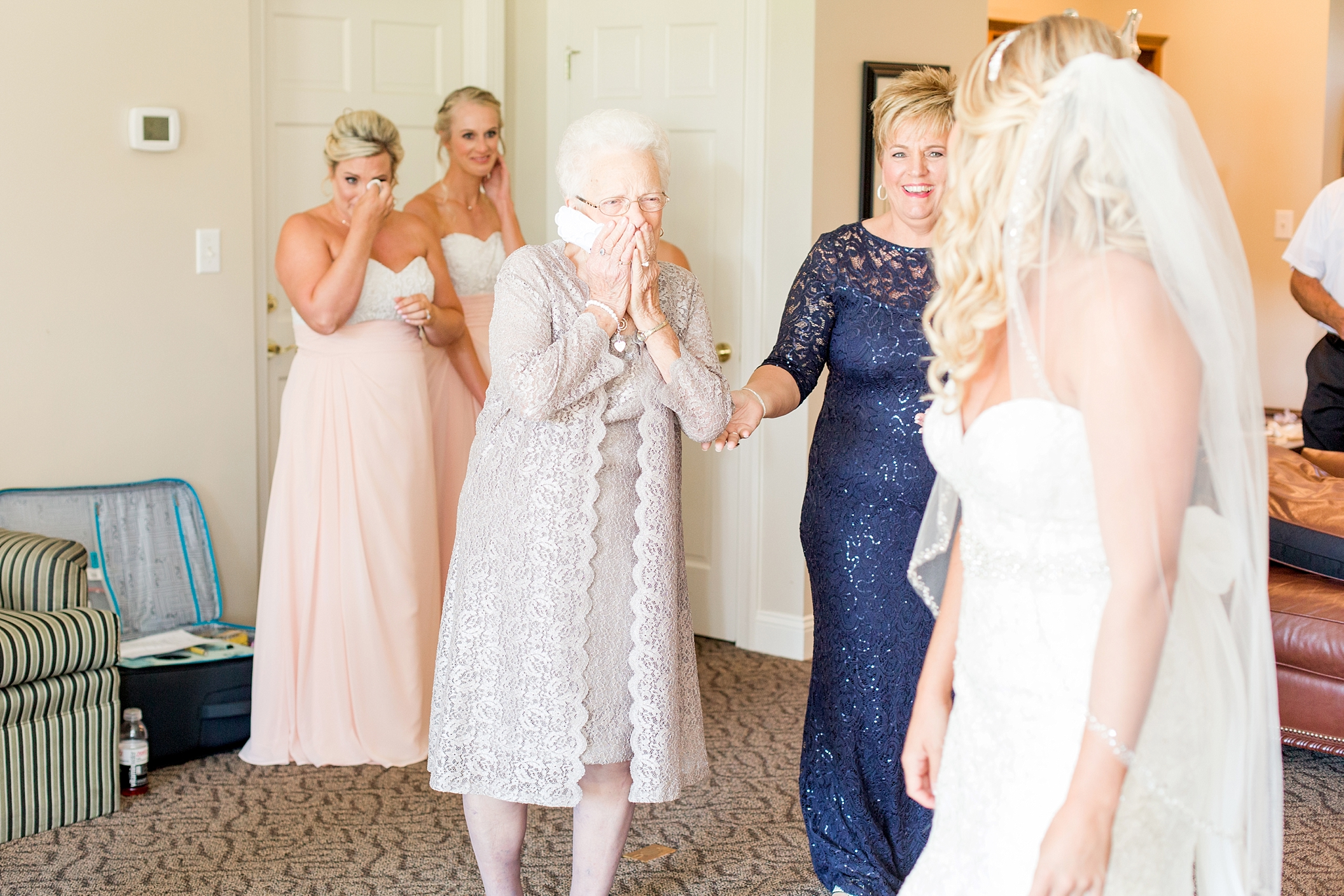 First look with grandma <3