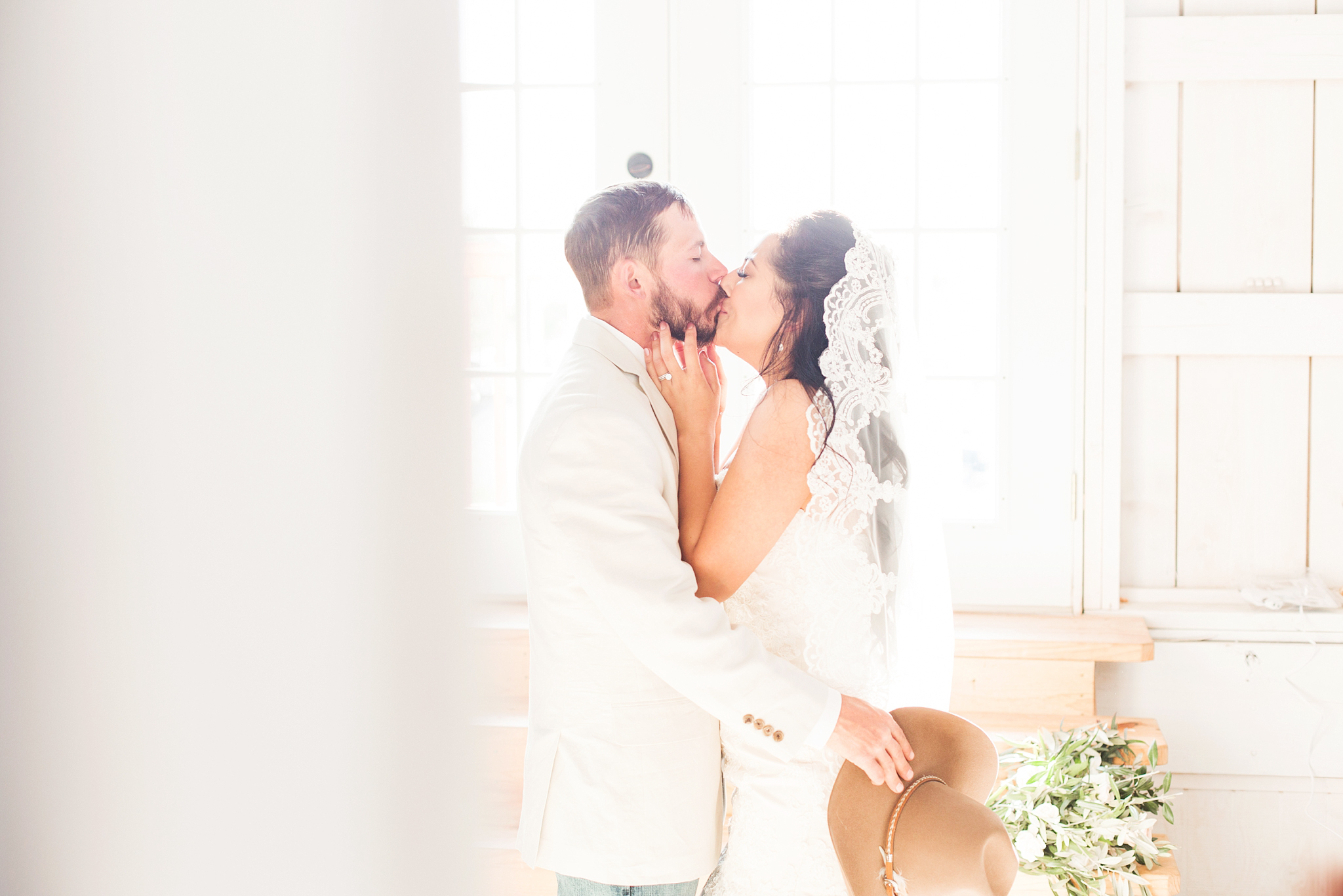 Susana and Ronnie snuck away to the bridal suite immediately after the ceremony to share a quiet moment together! So romantic!