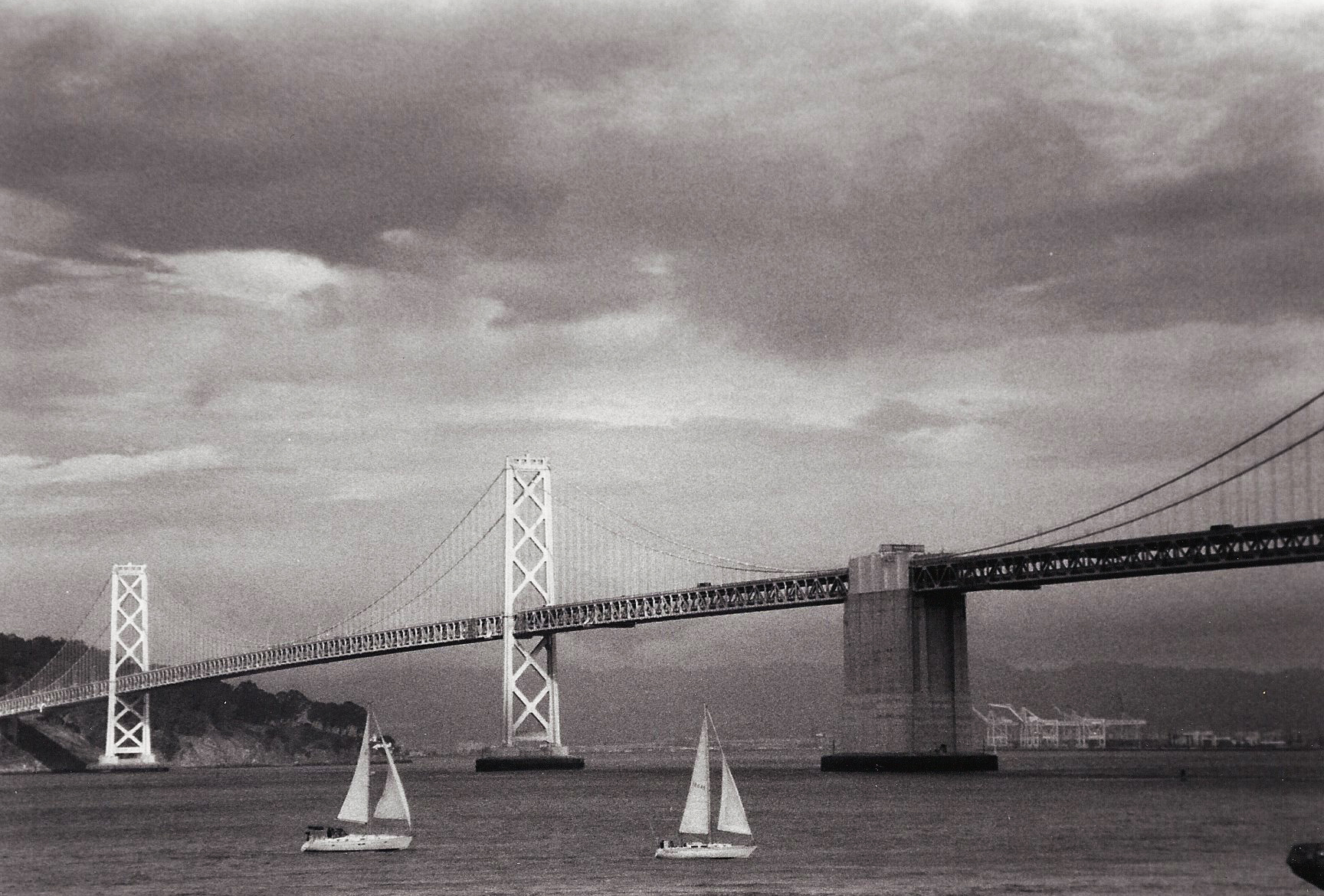 Former Bay Bridge - 35mm Film