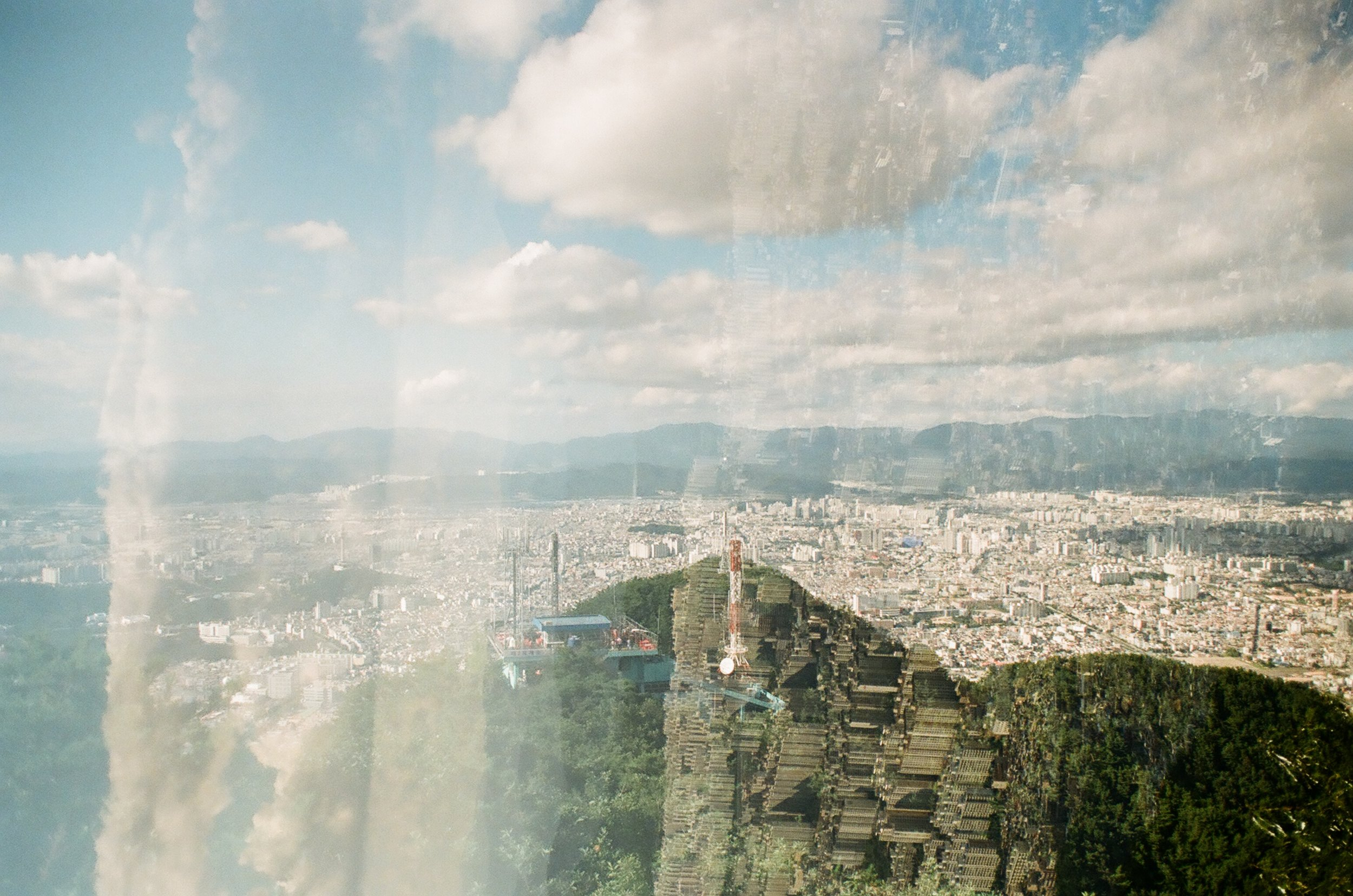 Daegu South Korea - 35mm Film - Place as a Feeling Series