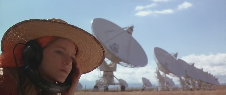 Jodie Foster in  Contact , © 1997 Warner Bros., USA