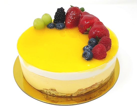 MANGO PASSIONFRUIT MOUSSE - $28 - 7inch ONLY