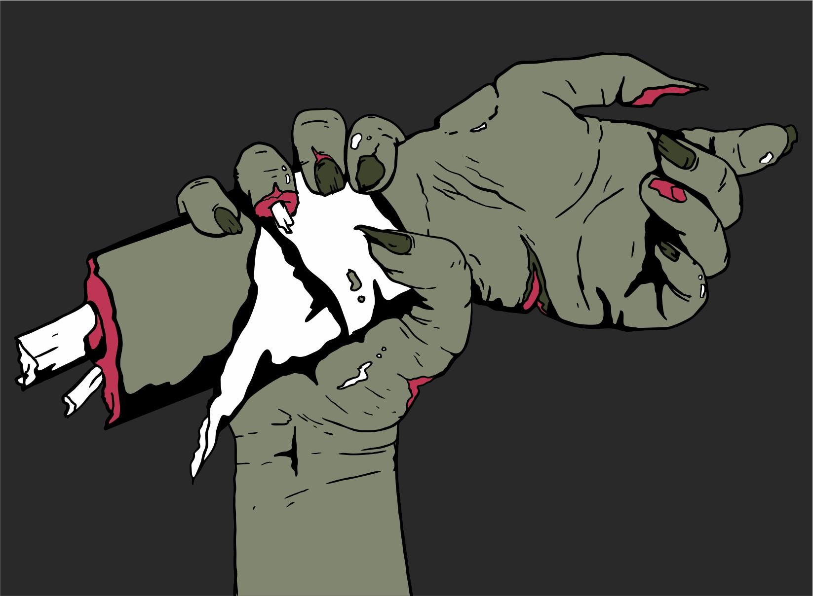 Zombie Propaganda Sketch