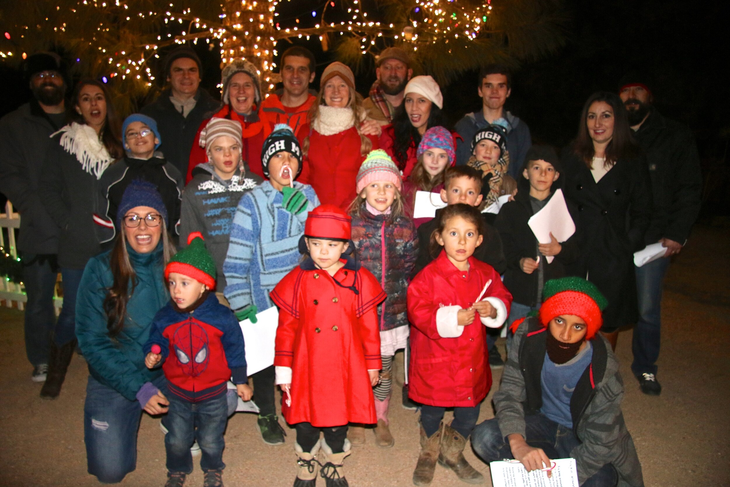 Christmas Caroling in Wrightwood