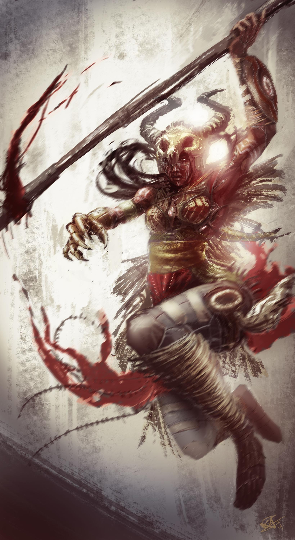 Xen-Tribal warrior