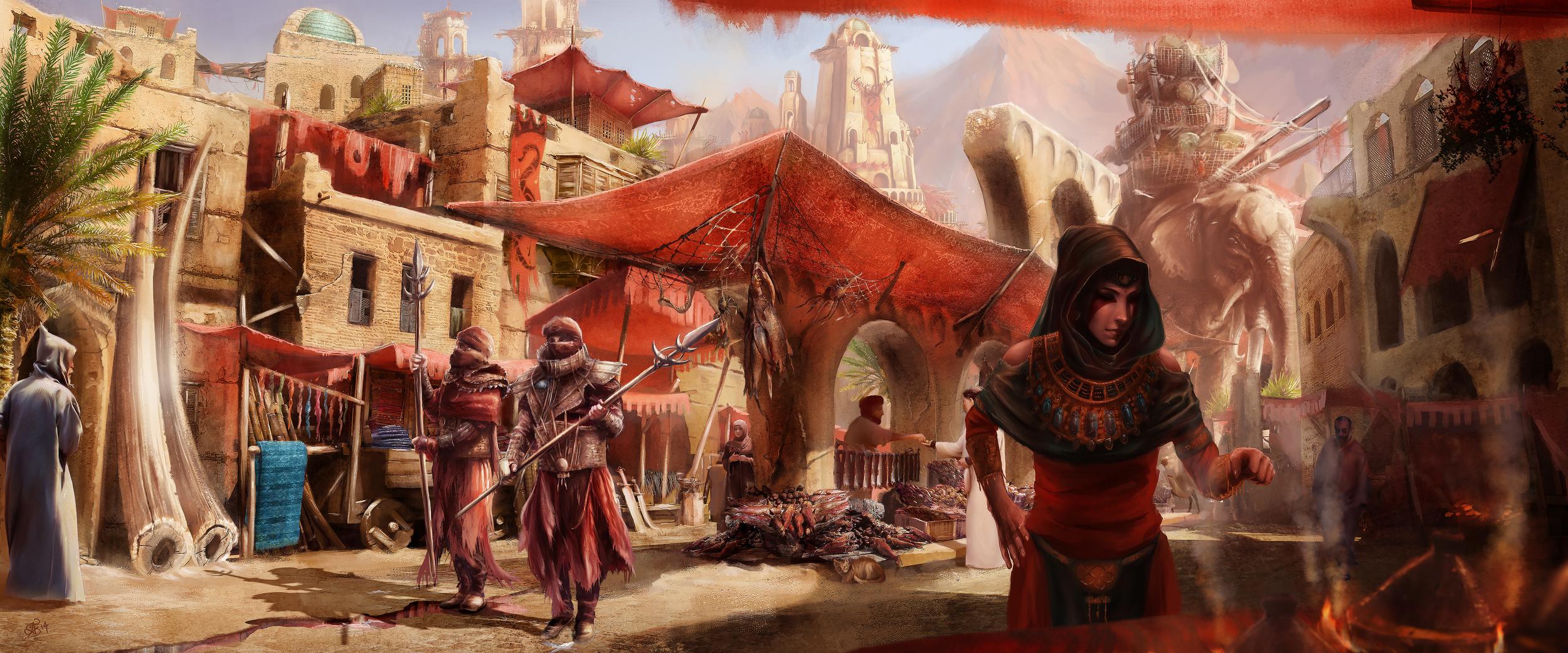 The Haradrim Market