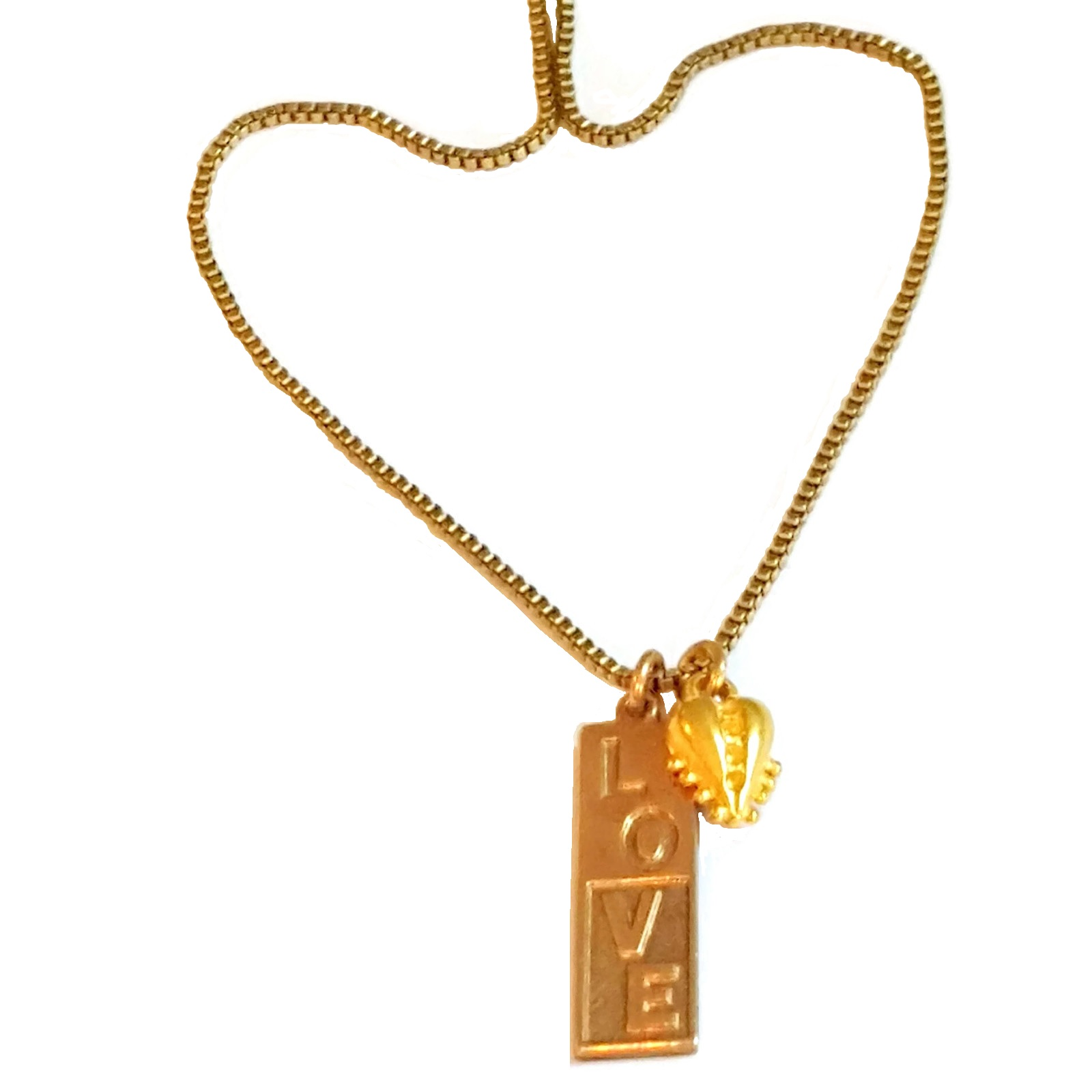 Love Is All We Need Necklace.