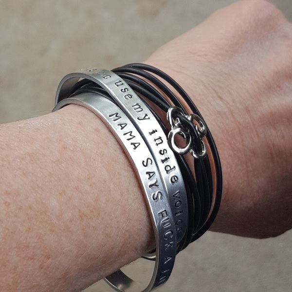 mama-says-and-inside-voice-bracelets-on-model.jpg