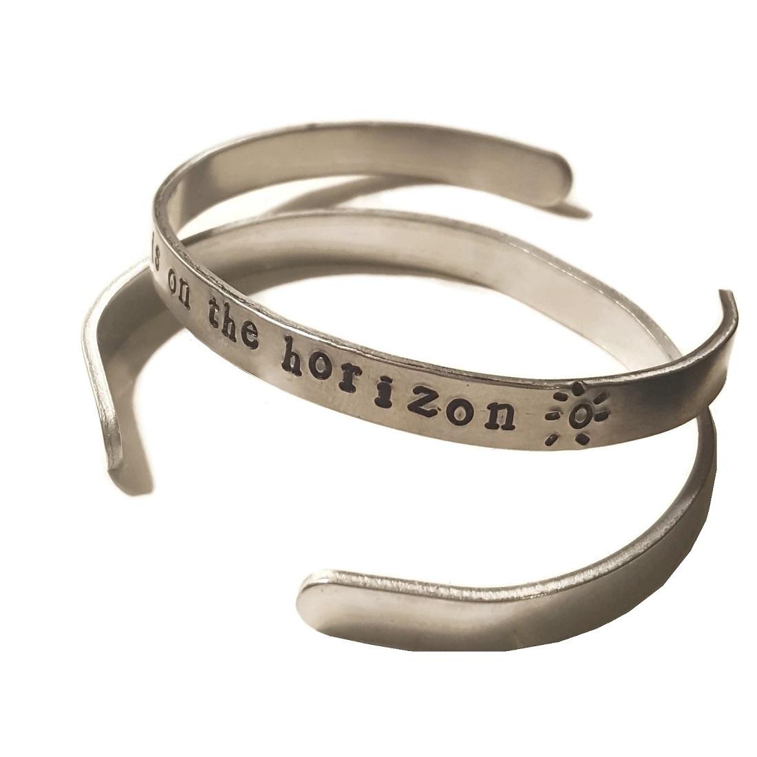 new day on the horizon bracelet cebette.com