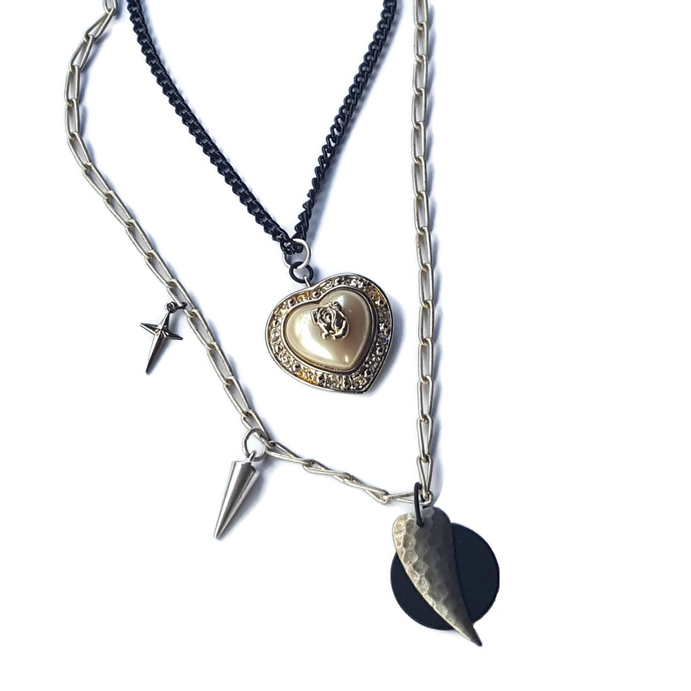 edgy heart double strand necklace.jpg