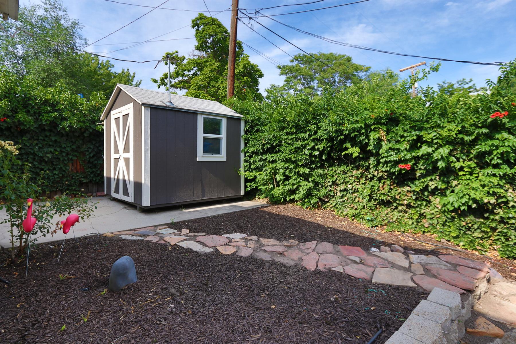 Backyard of 270 J St Salt Lake City, UT 84103