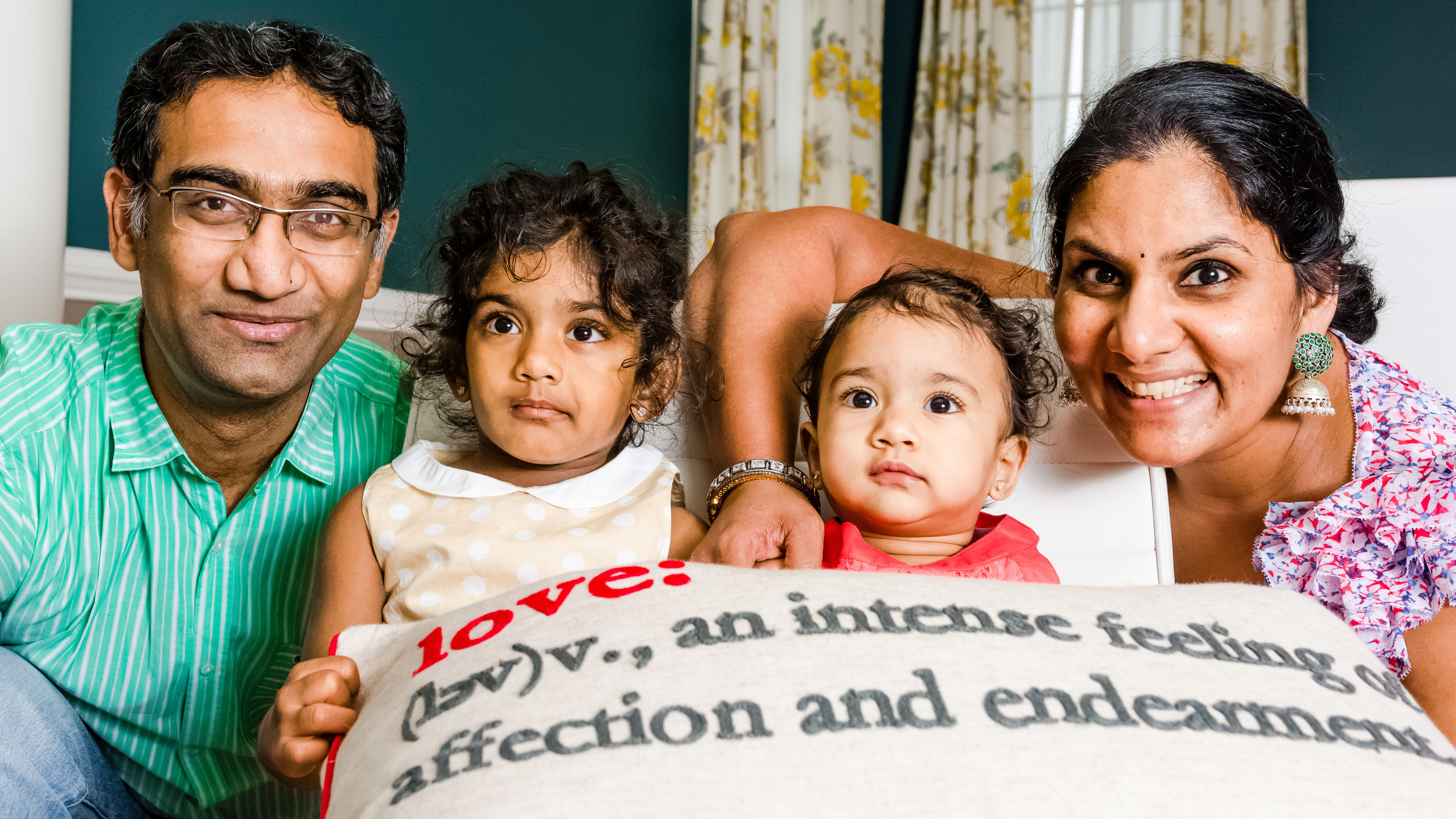Sowmya and Family -