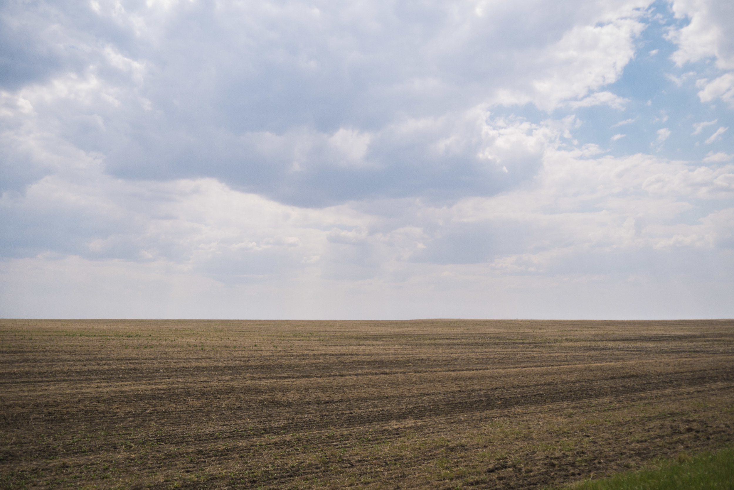 Did you know that not all of Saskatchewan is woods, water and mountain ranges? A good chunk of it is actually pretty flat.