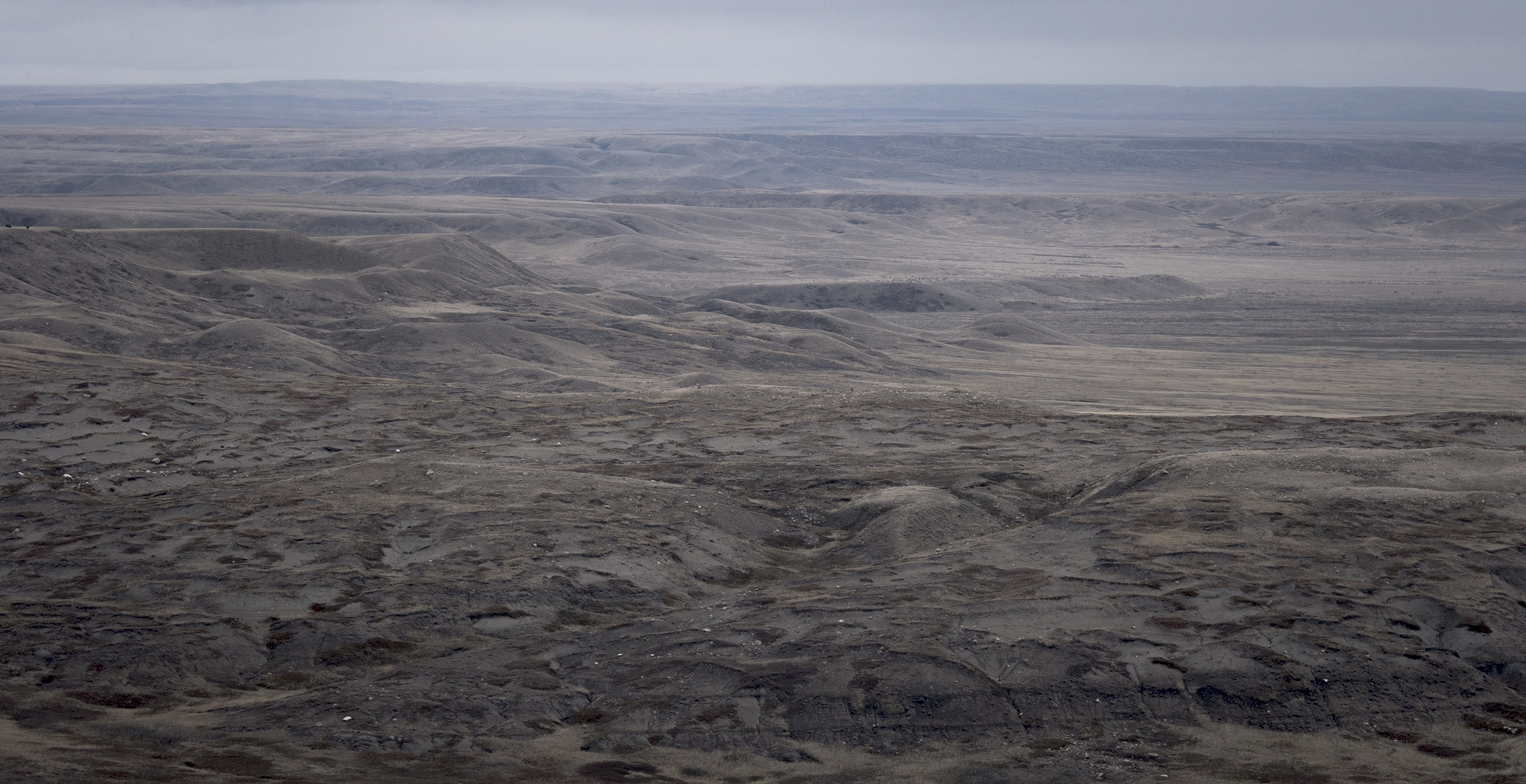 A slice of the expansive grassland as seen from 70 Mile Butte (Goodson)