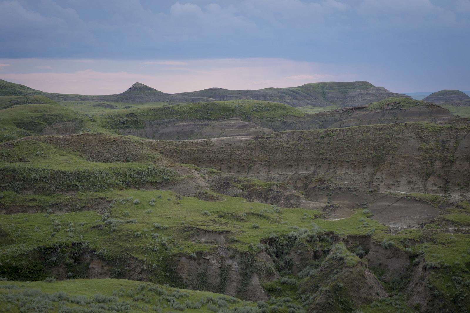 Sandstone Outcrops in Grasslands National Park