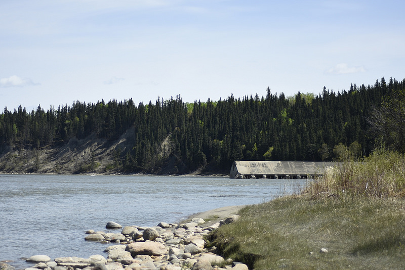 North Sask. River, La Colle Dam (Hootz)