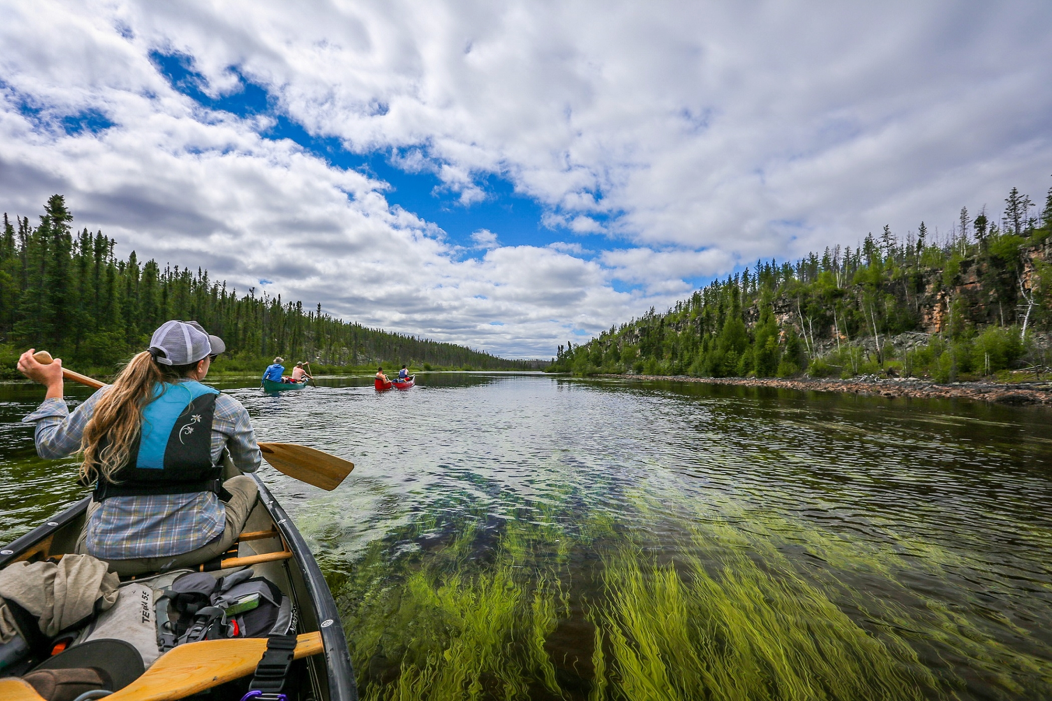 The Badwater River is a remote canoe route  in northern Saskatchewan, located northwest of Wollaston Lake.
