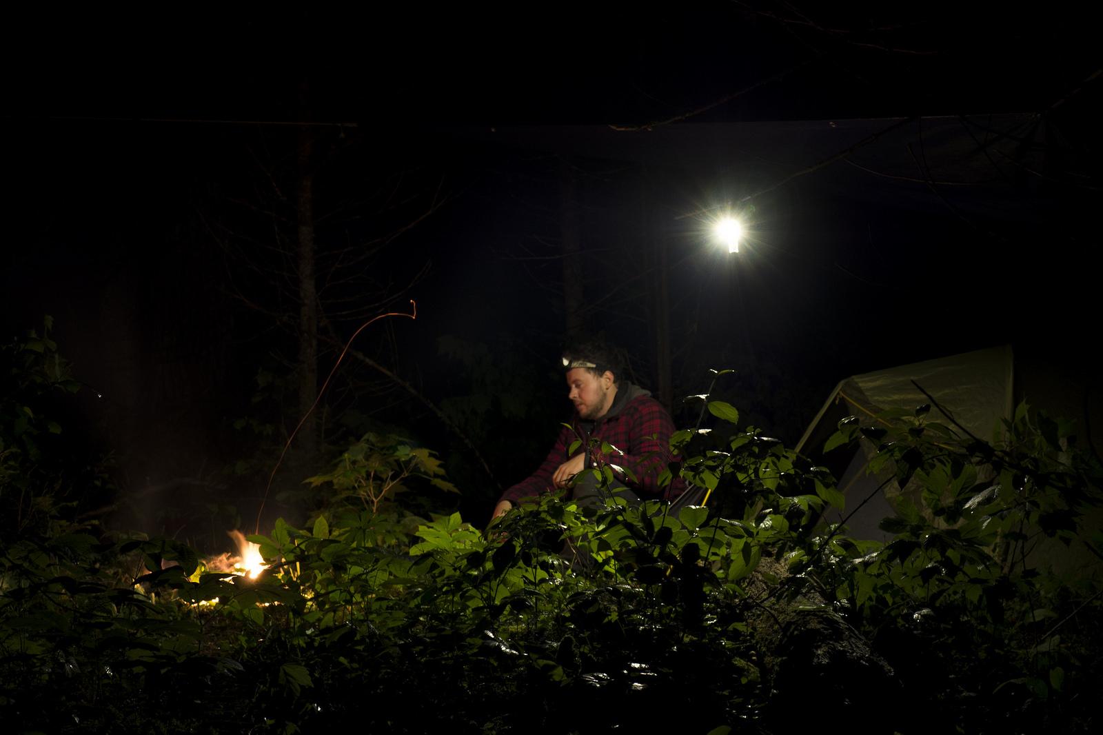 Solo camping: pretty neat. (Goodson)