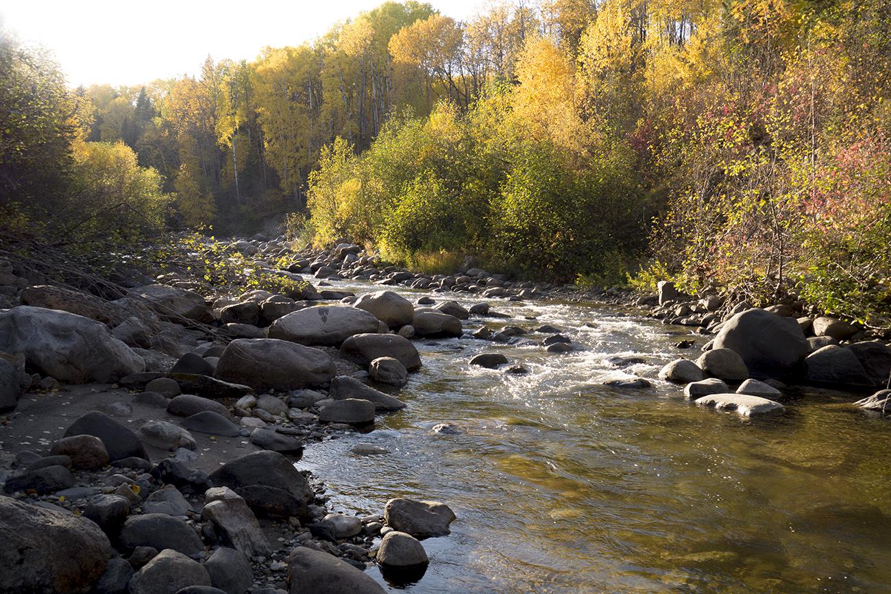 Steeprock River, Porcupine Hills