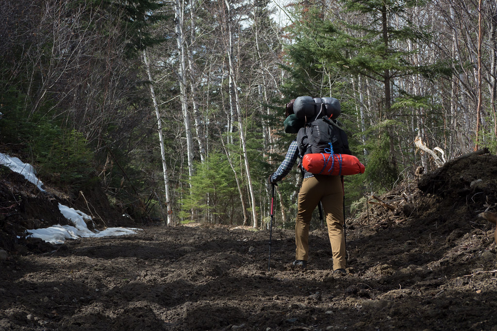 Muddy hike uphill (Goodson)