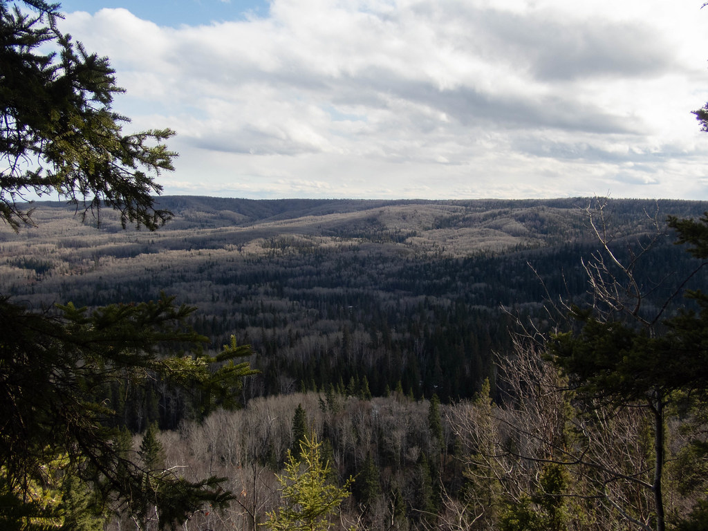 View of the opposite end of the Bell River Canyon (Hootz)