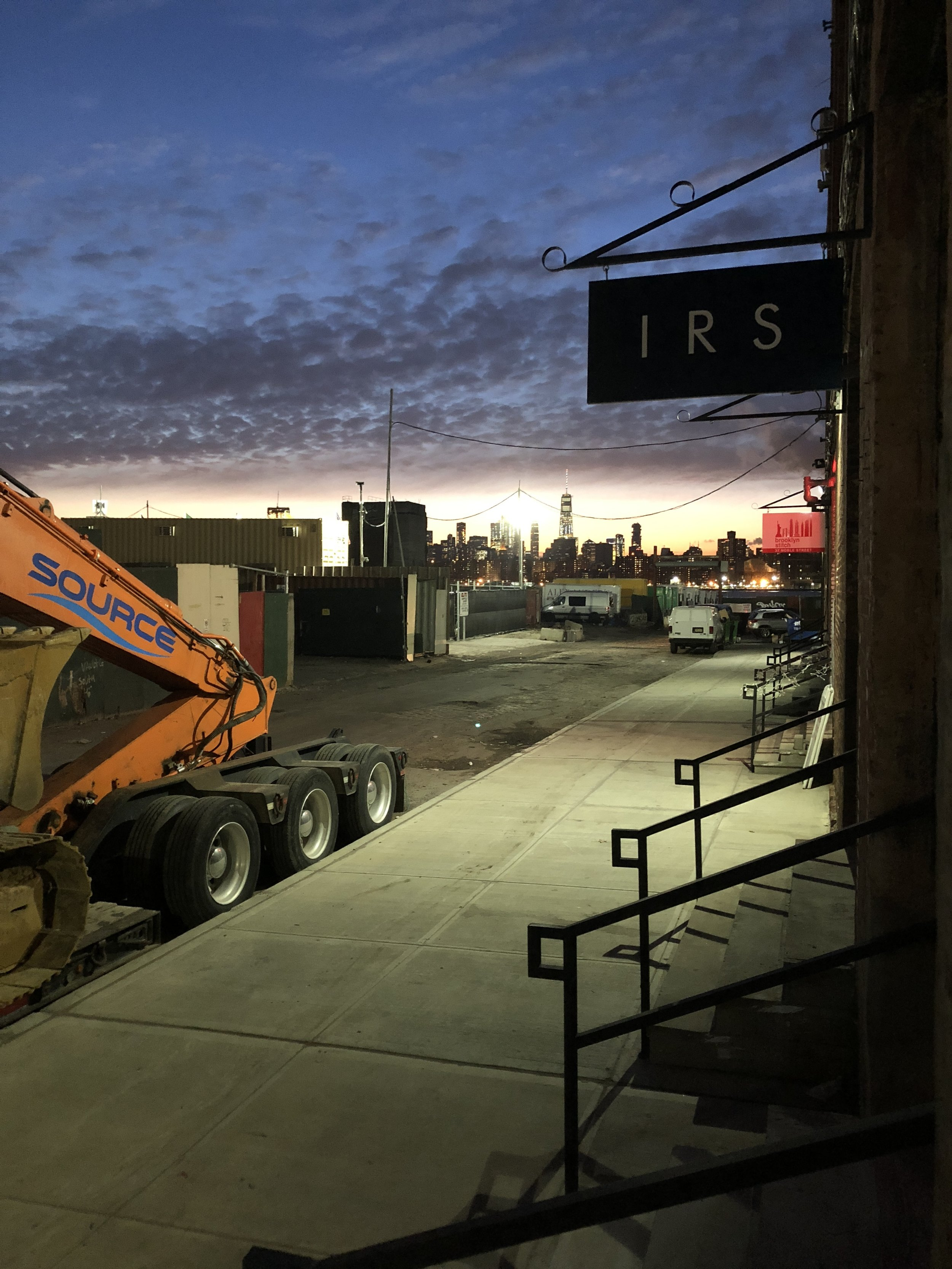 Isaac-Rae Studio in Greenpoint, Brooklyn