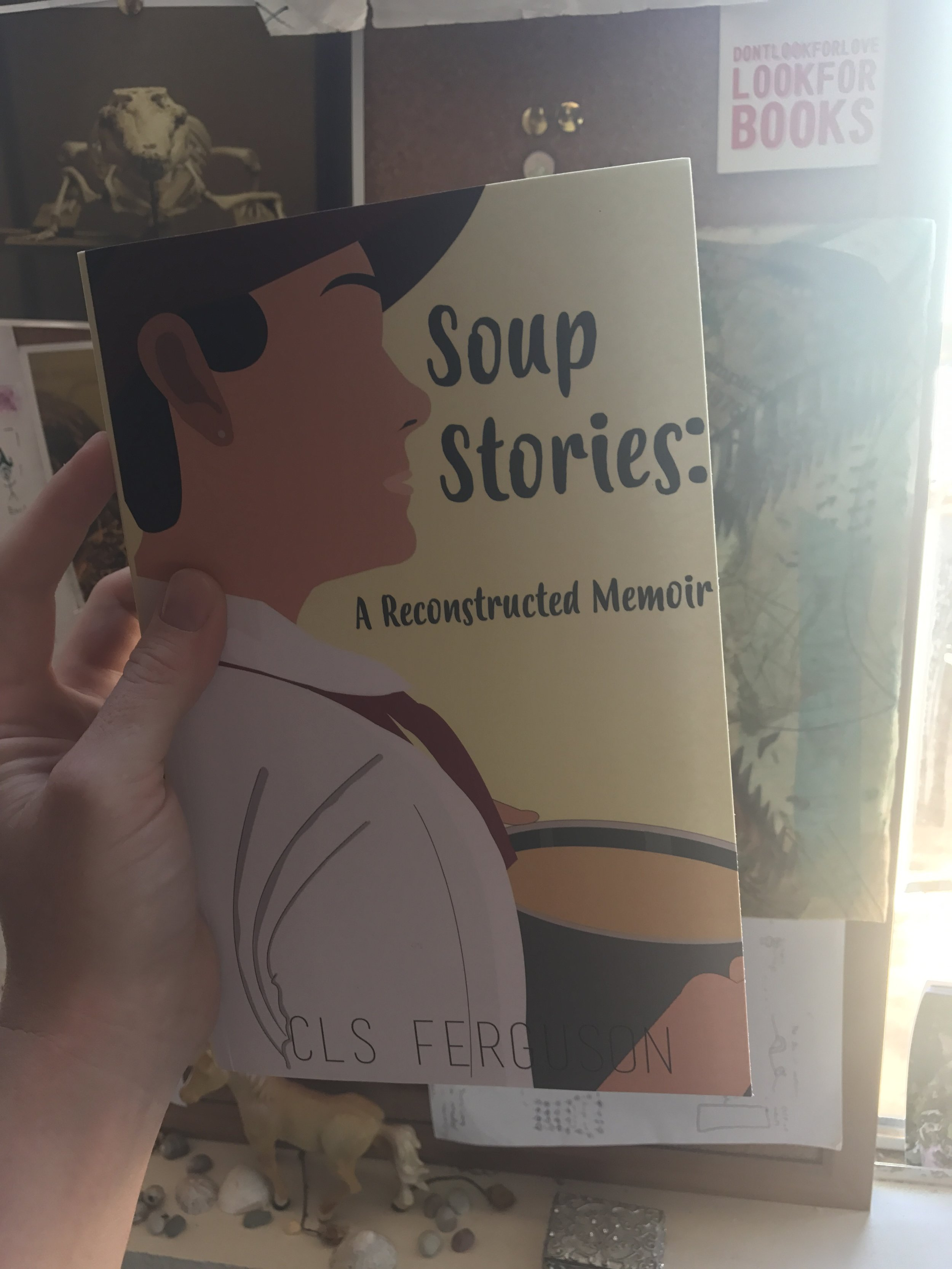 The official release of CLS Ferguson's Soup Storieson September 30! - more details soon!