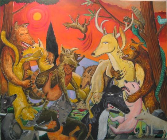 Armageddon 60x72 a/c 2010