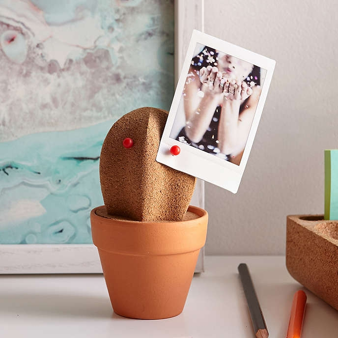 Cactus Desk Organizer, $15,  Urban Outfitters