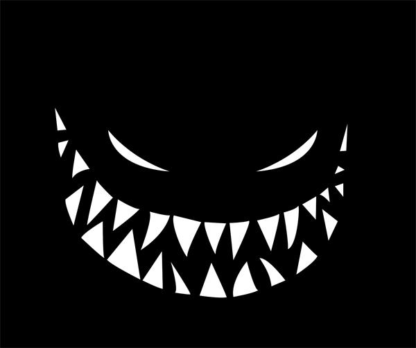 Bogyphobia (Fear of the Bogeyman)  ; Ink and digital 2012