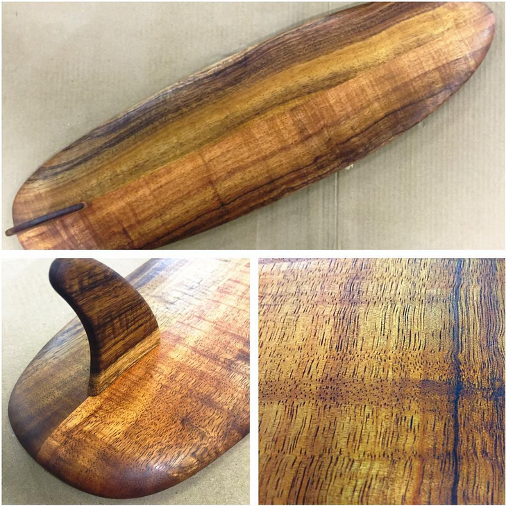 Genuine Koa Surfboard