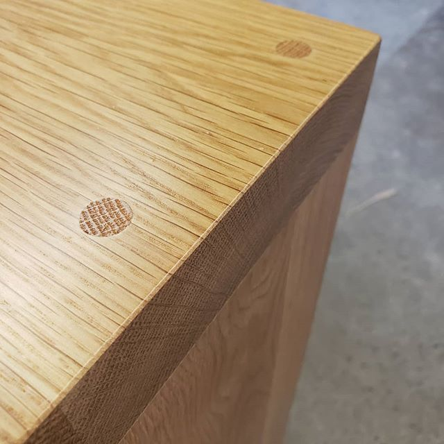A little bit of detail headed to @edgequarters and @moreaudesignstudio next week for some lucky clients of theirs 🙂  #Wood #woodworking #furniture #furnituredesign #Interiordesign #decor #designer #design #architecture #carpentry #Madeinamerica #smallbusiness